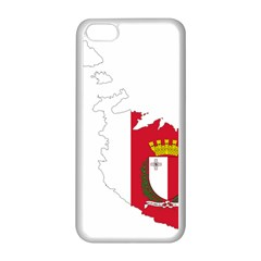 Malta Country Europe Flag Borders Iphone 5c Seamless Case (white) by Sapixe