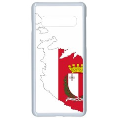 Malta Country Europe Flag Borders Samsung Galaxy S10 Seamless Case(white)