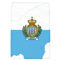 San Marino Country Europe Flag Removable Flap Cover (s)