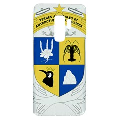 Coat Of Arms Of The French Southern And Antarctic Lands Samsung Galaxy S9 Plus Tpu Uv Case by abbeyz71