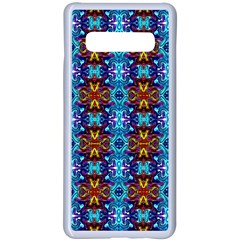 C 4 Samsung Galaxy S10 Plus Seamless Case(white) by ArtworkByPatrick