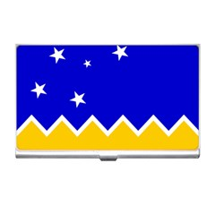 Flag Of Magallanes Region, Chile Business Card Holder by abbeyz71