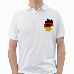 Republic Germany Deutschland Map Golf Shirt