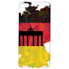 Republic Germany Deutschland Map Iphone 7/8 Plus Soft Bumper Uv Case