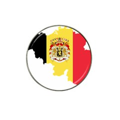 Belgium Country Europe Flag Hat Clip Ball Marker (4 Pack)