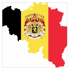 Belgium Country Europe Flag Large Satin Scarf (square) by Sapixe