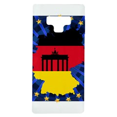 Republic Germany Deutschland Map Samsung Galaxy Note 9 Tpu Uv Case