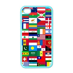 Flags Countries International Iphone 4 Case (color)