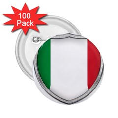 Flag Italy Country Italian Symbol 2 25  Buttons (100 Pack)