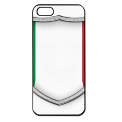 Flag Italy Country Italian Symbol Iphone 5 Seamless Case (black)