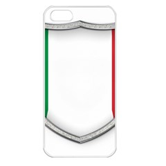 Flag Italy Country Italian Symbol Iphone 5 Seamless Case (white)
