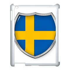 Flag Sweden Country Swedish Symbol Apple Ipad 3/4 Case (white)