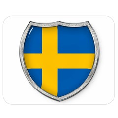 Flag Sweden Country Swedish Symbol Double Sided Flano Blanket (medium)