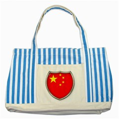 Flag China Country Nation Asia Striped Blue Tote Bag
