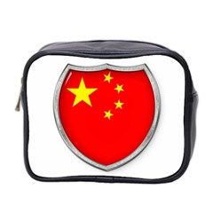 Flag China Country Nation Asia Mini Toiletries Bag (two Sides) by Sapixe