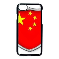 Flag China Country Nation Asia Iphone 8 Seamless Case (black)
