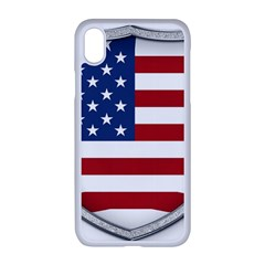 Flag Usa America American National Iphone Xr Seamless Case (white)