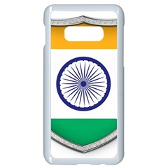 Flag India Nation Country Banner Samsung Galaxy S10e Seamless Case (white)