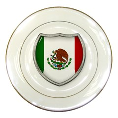 Flag Mexico Country National Porcelain Plates