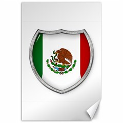 Flag Mexico Country National Canvas 24  X 36