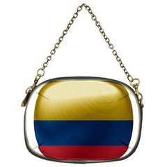 Colombia Flag Country National Chain Purse (one Side)