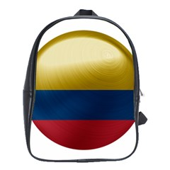 Colombia Flag Country National School Bag (large)