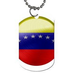 Venezuela Flag Country Nation Dog Tag (one Side)