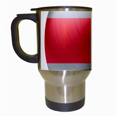 Costa Rica Flag Country Symbol Travel Mugs (white)