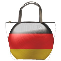 Germany Flag Europe Country Bucket Bag by Sapixe