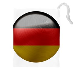 Germany Flag Europe Country Drawstring Pouch (xxxl) by Sapixe