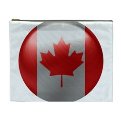 Canada Flag Country Symbol Nation Cosmetic Bag (xl)