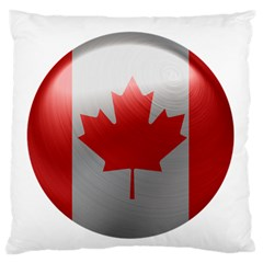 Canada Flag Country Symbol Nation Standard Flano Cushion Case (one Side) by Sapixe