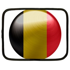 Belgium Flag Country Europe Netbook Case (large)