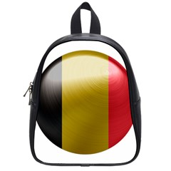 Belgium Flag Country Europe School Bag (small) by Sapixe