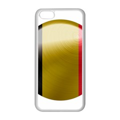 Belgium Flag Country Europe Iphone 5c Seamless Case (white)