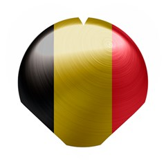 Belgium Flag Country Europe Wooden Puzzle Heart