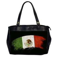 Flag Mexico Country National Oversize Office Handbag (2 Sides)