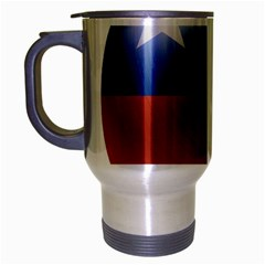 Chile Flag Country Chilean Travel Mug (silver Gray)
