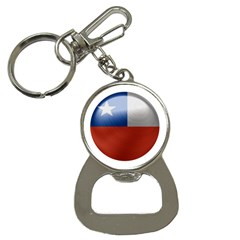 Chile Flag Country Chilean Bottle Opener Key Chain