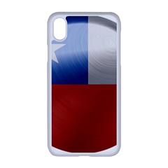 Chile Flag Country Chilean Iphone Xr Seamless Case (white)