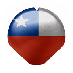 Chile Flag Country Chilean Wooden Puzzle Heart
