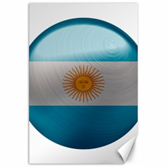 Argentina Flag Country Nation Canvas 20  X 30