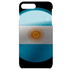 Argentina Flag Country Nation Iphone 7/8 Plus Black Uv Print Case