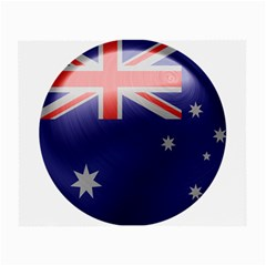 Australia Flag Country National Small Glasses Cloth (2 Sides)