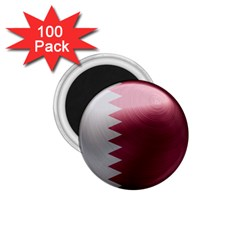 Qatar Flag Country Nation National 1 75  Magnets (100 Pack)