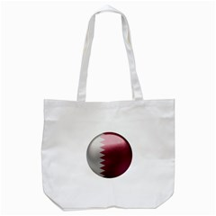 Qatar Flag Country Nation National Tote Bag (white)