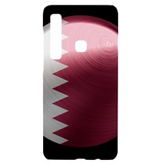 Qatar Flag Country Nation National Samsung A9 Black Uv Print Case by Sapixe