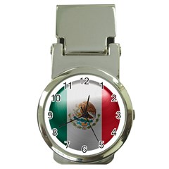 Mexico Flag Country National Money Clip Watches