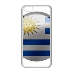 Uruguay Flag Country Symbol Nation Iphone 5c Seamless Case (white) by Sapixe