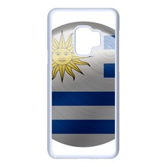 Uruguay Flag Country Symbol Nation Samsung Galaxy S9 Seamless Case(white) by Sapixe